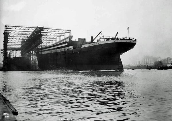 Titanic: 45,000 ton monster ready for service (1912)