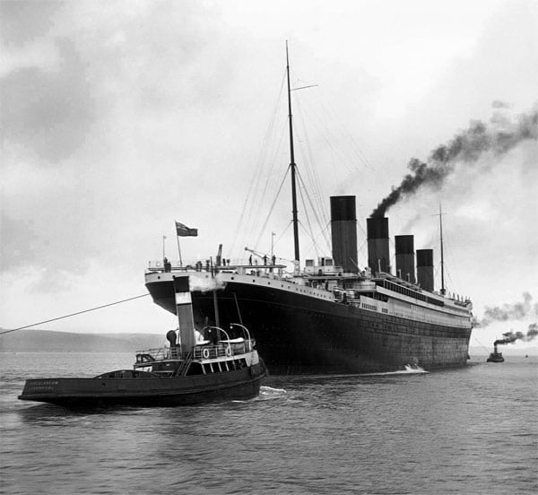 A great new peace agent: The Titanic (1911)