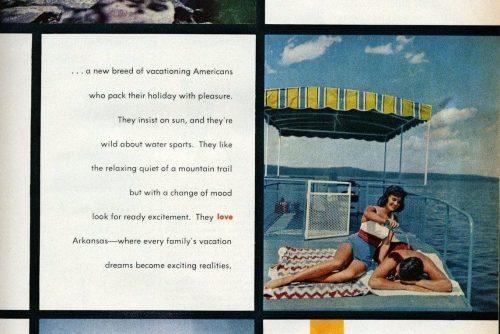 Fun people vacation in Arkansas (1961)