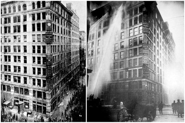 146 Die In Triangle Shirtwaist Factory Fire 1911 Click