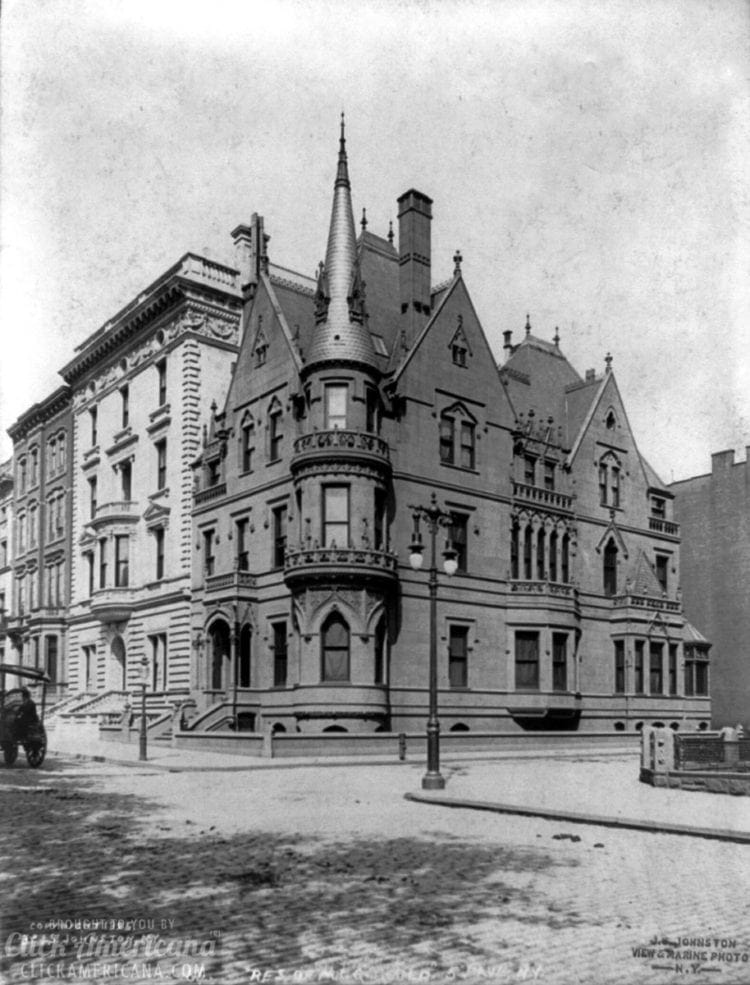 Mansion home of Residence of Mr. Griswald, 5th Ave., New York City
