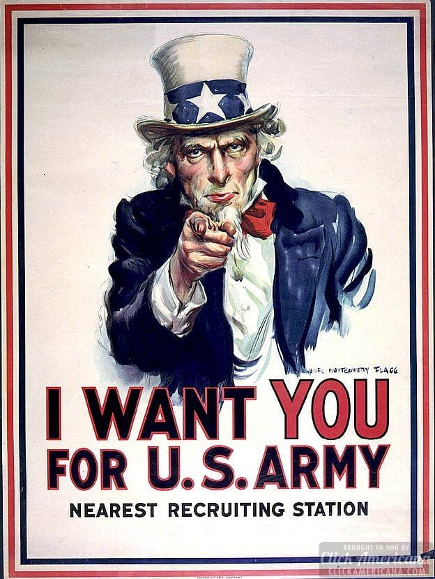 US joins World War I: Headlines declaring war (1917)