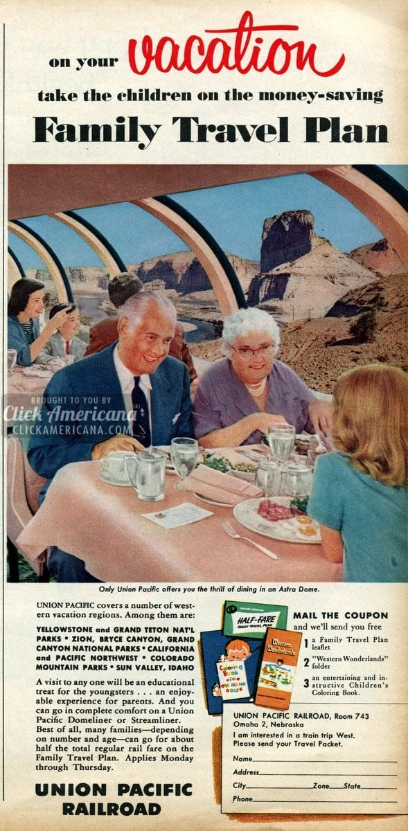 Take the train to your family vacation destination! (1956)