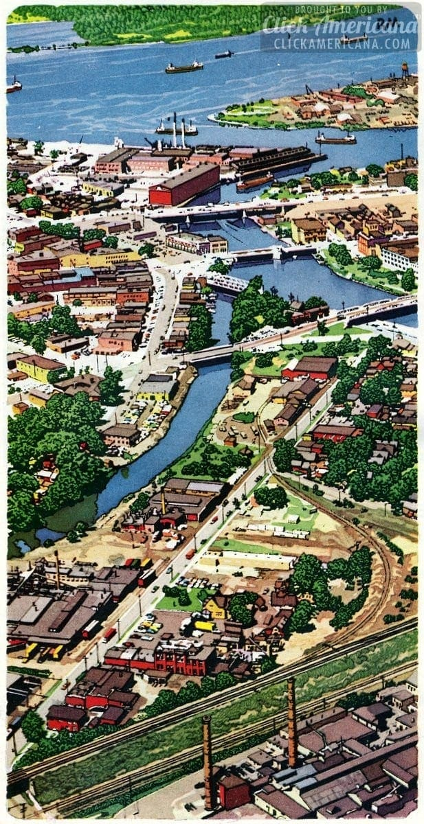 Upstate New York & the Niagara Frontier (1958)