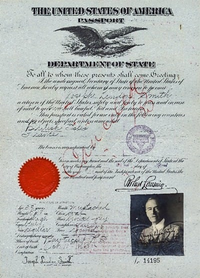 New Passport Rules In Force 1916 Click Americana