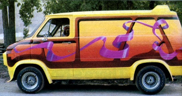 Vanning craze: Custom hangouts on wheels (1977)