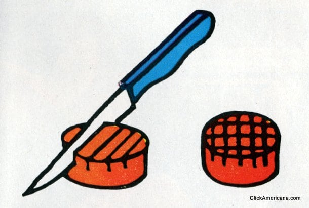 Carrot Crisscrosses Do-it-yourself garnishes (1965)