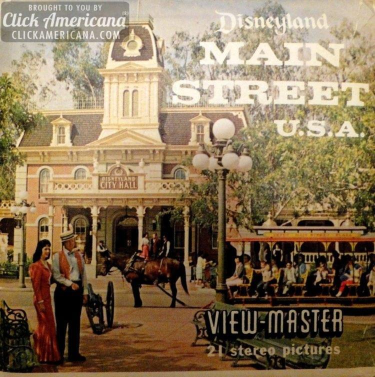 Disneyland Vintage View-Master reels