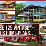 vintage '60s home plans used to build millions of mid-century houses