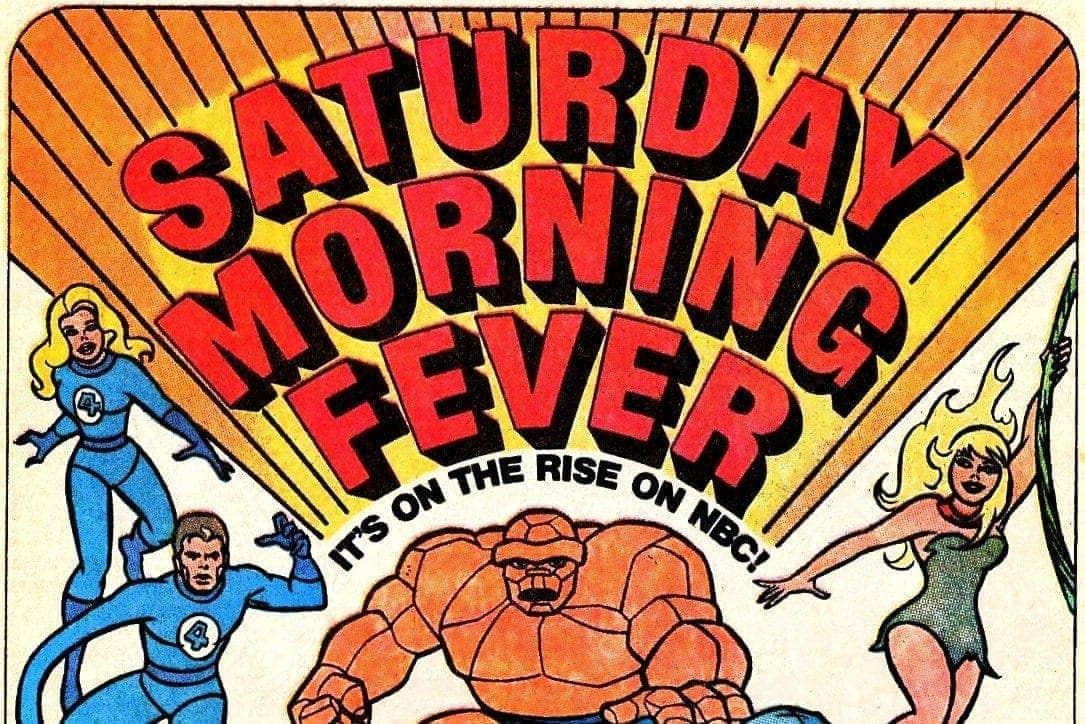 vintage Saturday morning cartoons
