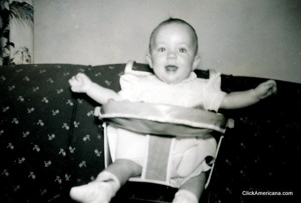 baby gear from the 1940s