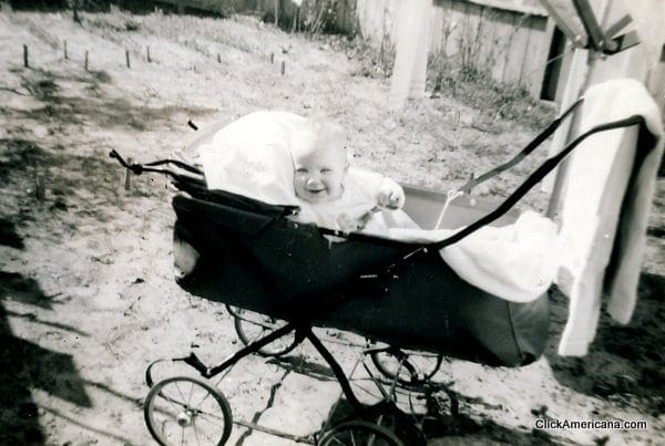 Vintage baby stuff