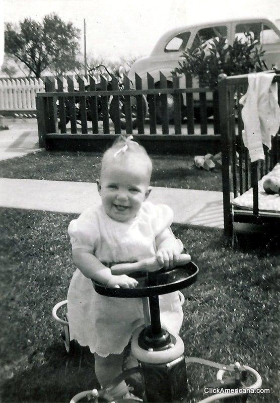 Vintage baby gear
