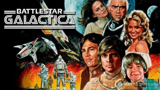 Battlestar Galactica intro (1978)