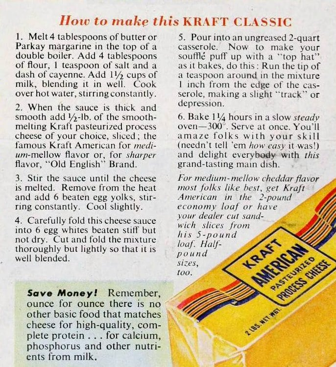 How to make this Kraft classic