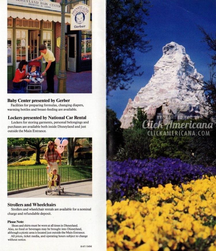 Disneyland facts and information - Matterhorn ride