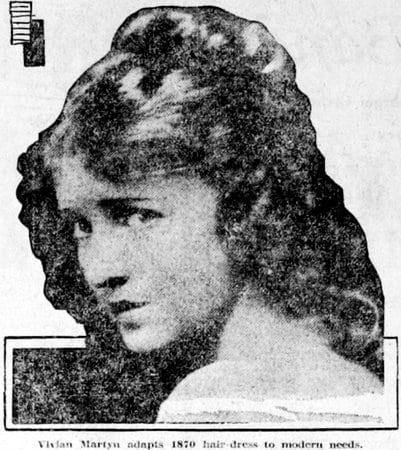 Back 50 years for a new hairstyle (1921)