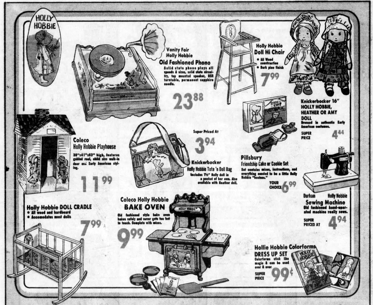 Coleco Holly Hobbie doll set (1976)