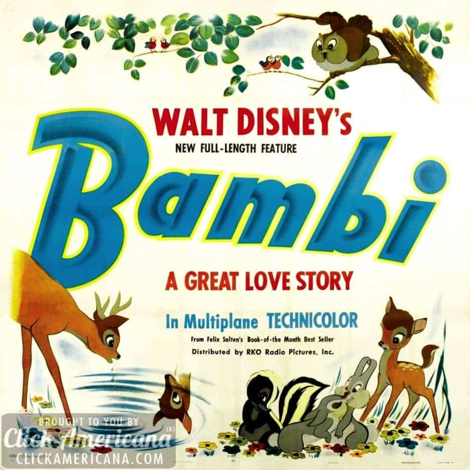 'Bambi' is the best of Disney (1942)