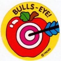 vintage-scratch-sniff-sticker-bullseye