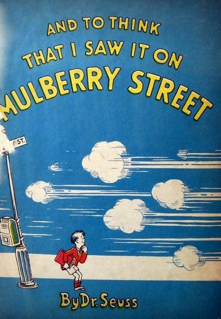 vintage seuss mulberry street
