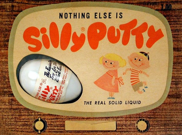 Silly Putty Wonder Toy Of The 20th Century 1951 Click
