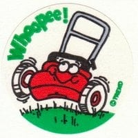 vintage-smelly-stickers-trend-grass-mower