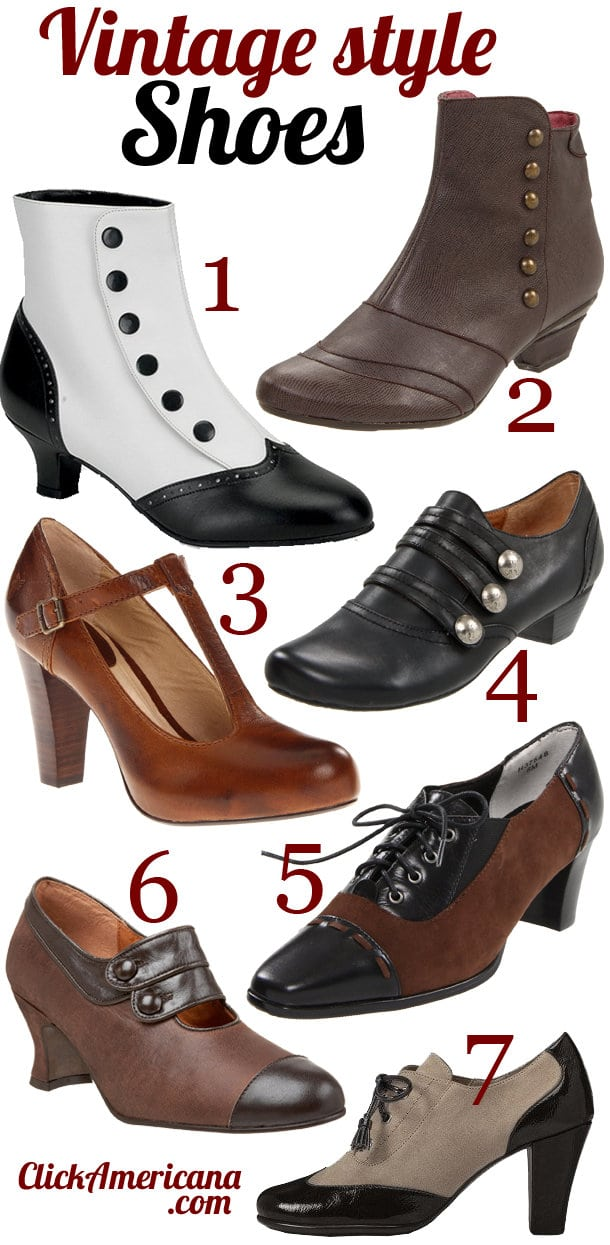Vintage Retro Style Shoes You Can Get Now Click Americana