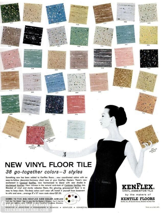 Vct tile joy studio design gallery best design for Linoleum flooring colors