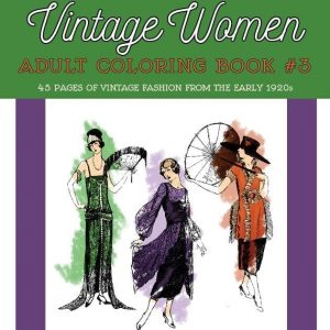 Vintage Women coloring book #3