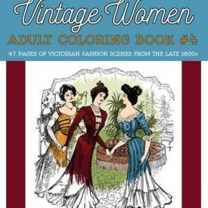 Vintage Women - Fashion book 4