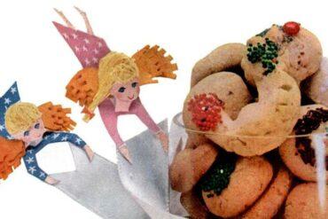 Vintage Swedish heirloom cookie recipe from 1956
