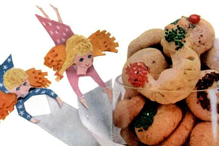 Vintage Swedish heirloom cookie recipe from 1956
