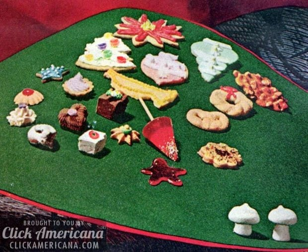 Visions of sugar plums: Recipes for 14 Christmas treats (1965)