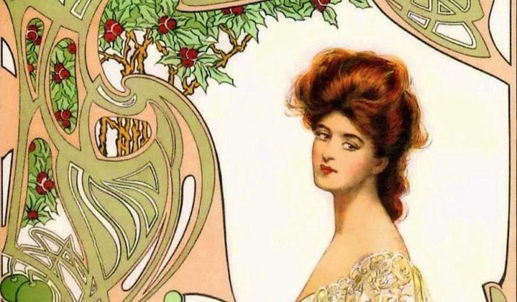 Her crowning glory: Tips for more beautiful hair (1902)