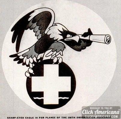 Walt Disney designs Army & Navy insignia (1941)