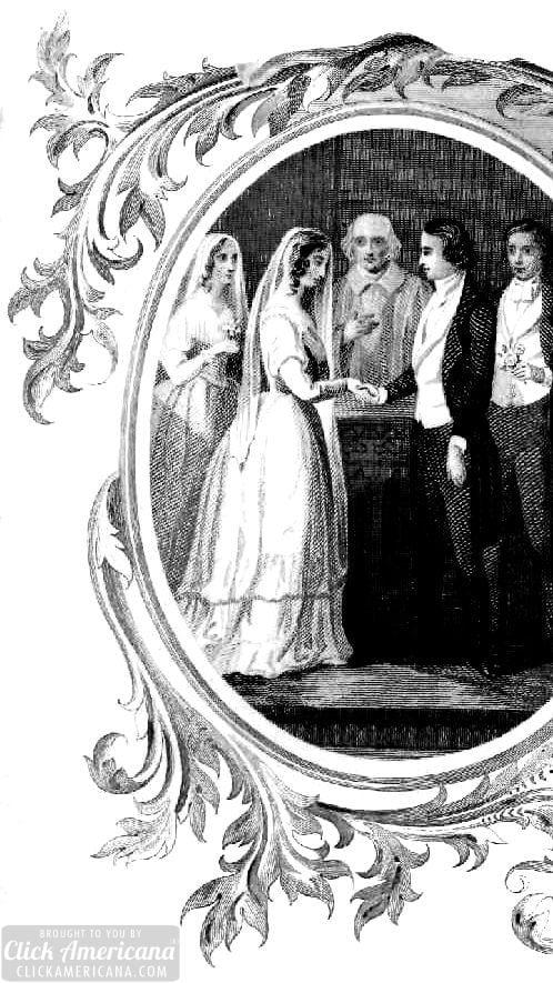 1851 wedding