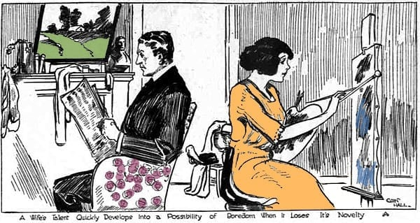 Advice to the wife with a talent (1913)