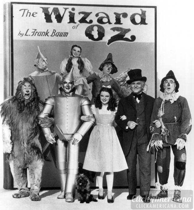 wizard of oz promotional photo