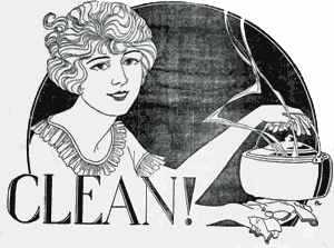 Coping with cooking odors (1911)