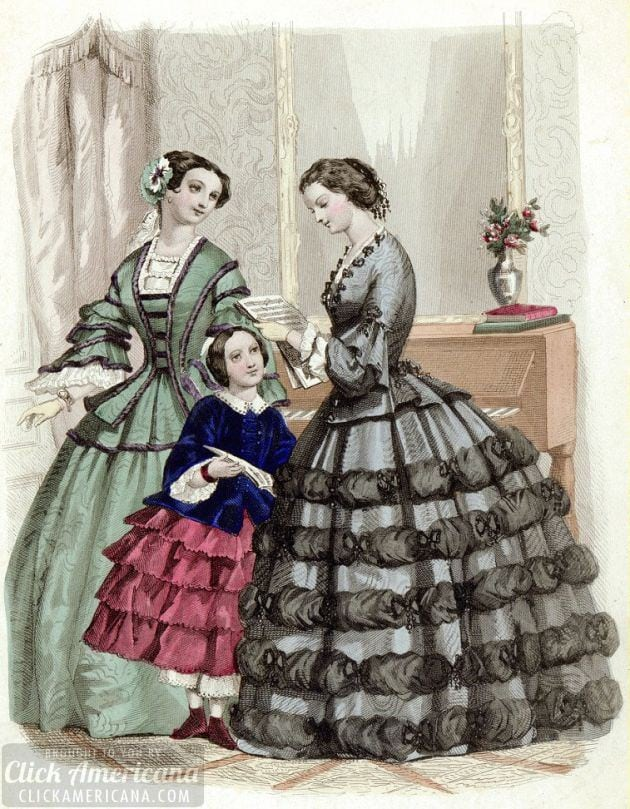 The etiquette of courtship: Love letters (1850)