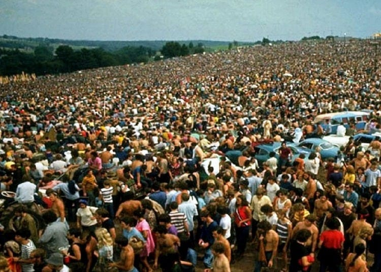 Woodstock through the eyes of the attendees 1969