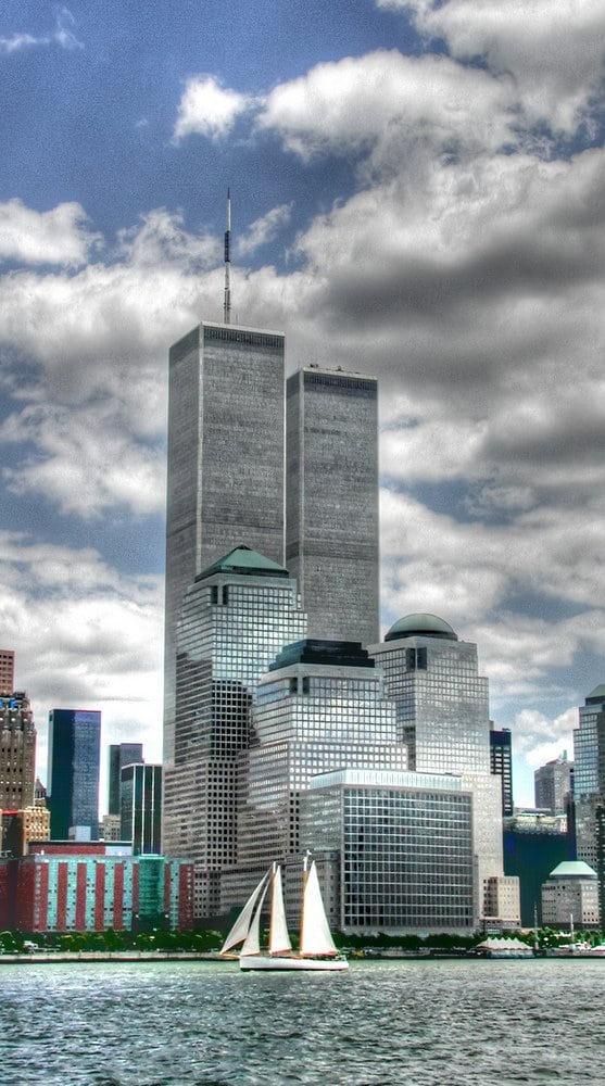 World Trade Center from Circle Line (July 6, 2001)