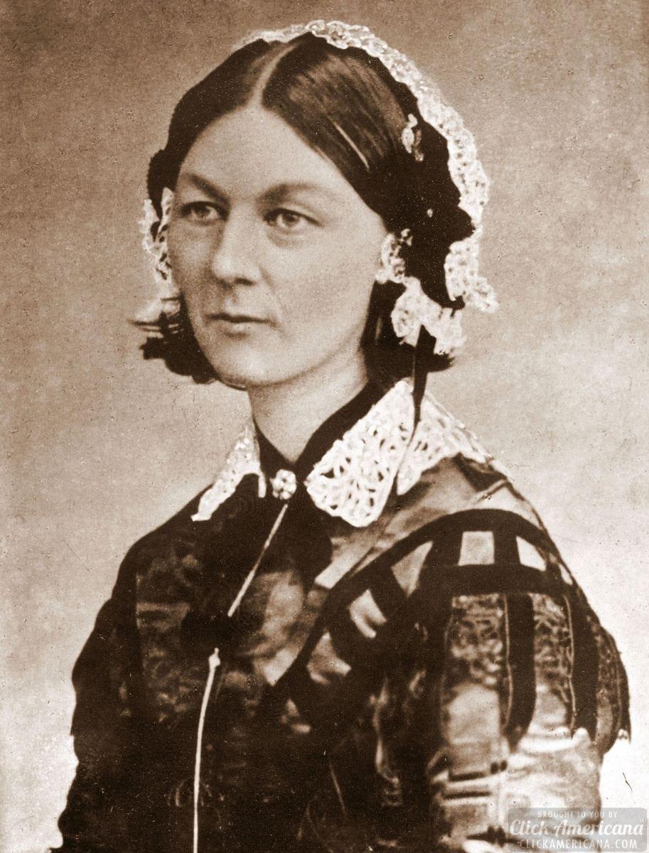 Florence Nightingale's life one long sacrifice (1820-1910)