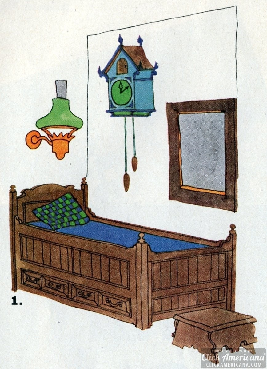 Young furniture that grows up with its owner 1965