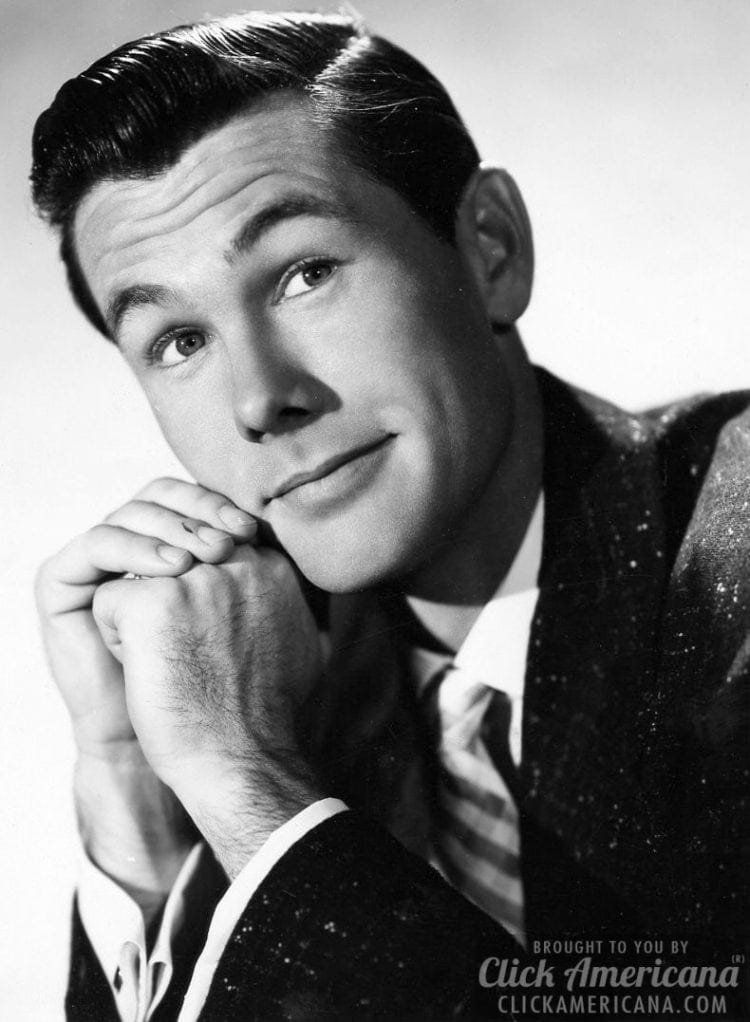 Young Johnny Carson - 1957